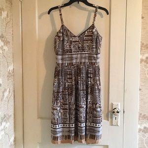 Dresses & Skirts - Printed Empire Waist Dress